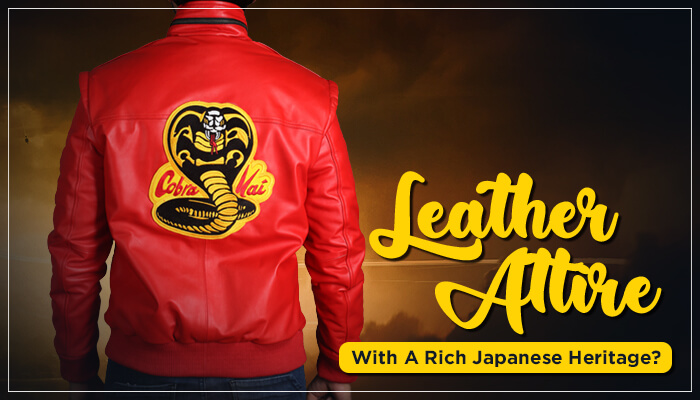 Leather attire with a rich Japanese heritage?