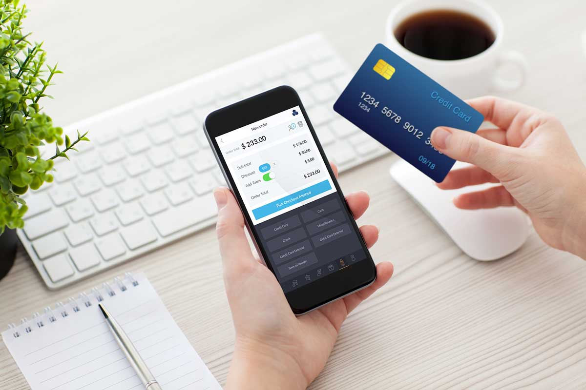 What is meant by credit card processing