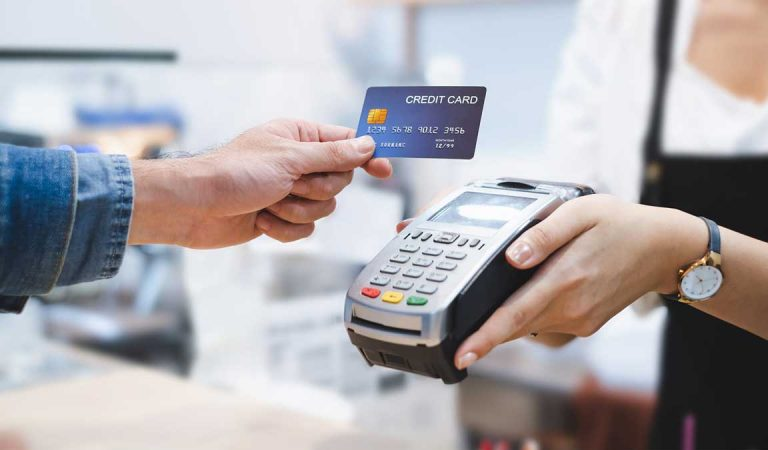 What is meant by credit card processing?