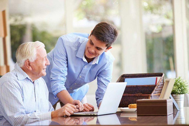 Internet Helps Senior Singles