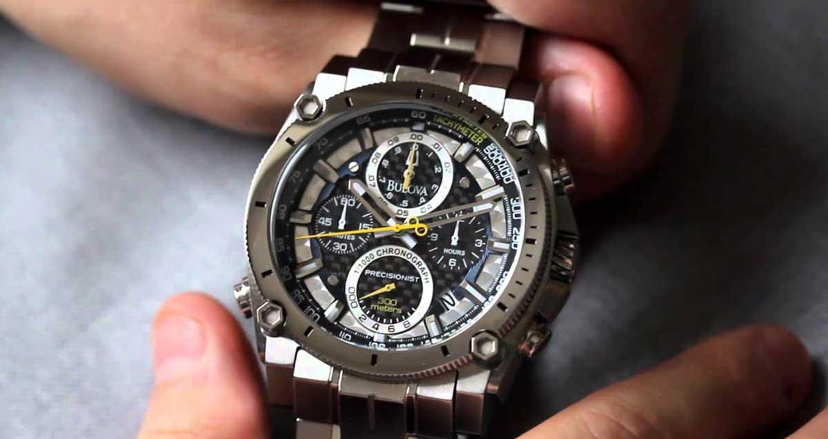 Bulova Precisionist Champlain Watch