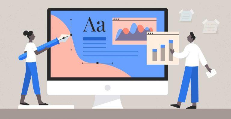 Exciting Digital Marketing Design