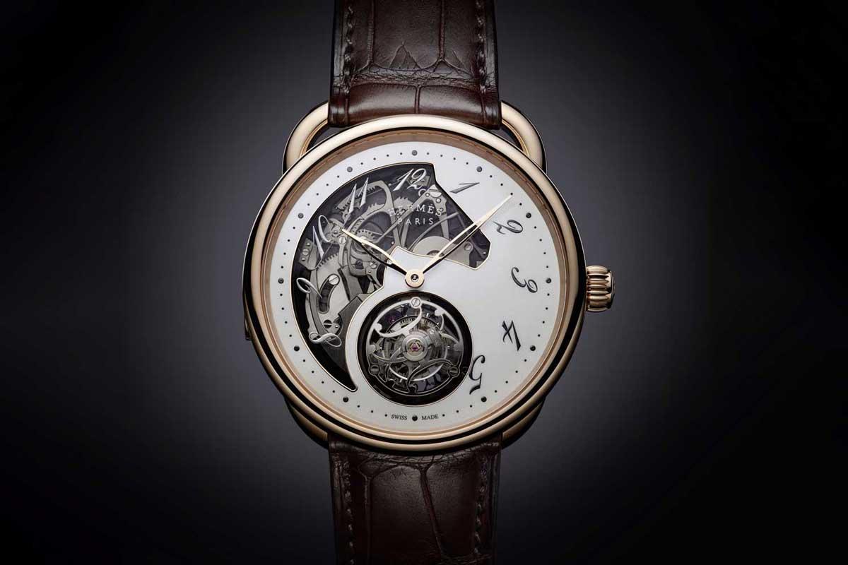 Hermès Arceau Lift Tourbillon Watch