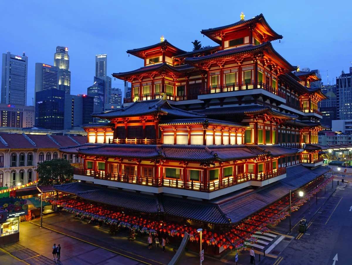 The Singapore's Chinatown