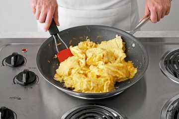 Use Pan for Making Scrambled Eggs