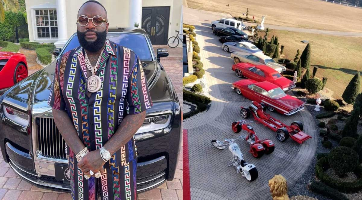 Rick Ross House and Cars Collection